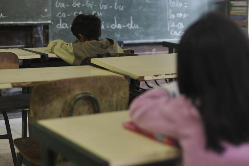 A aldeia com escola e professores, tanto para propagação da cultura Guarani quanto para edução de base das crianças. Foto: Pena Filho
