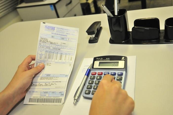 Gasto com contas básicas é uma das prioridades na lista | Foto: Arquivo OCP News