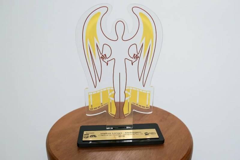 Quais as ideias por trás do troféu do Festival de Cinema de Jaraguá do Sul?