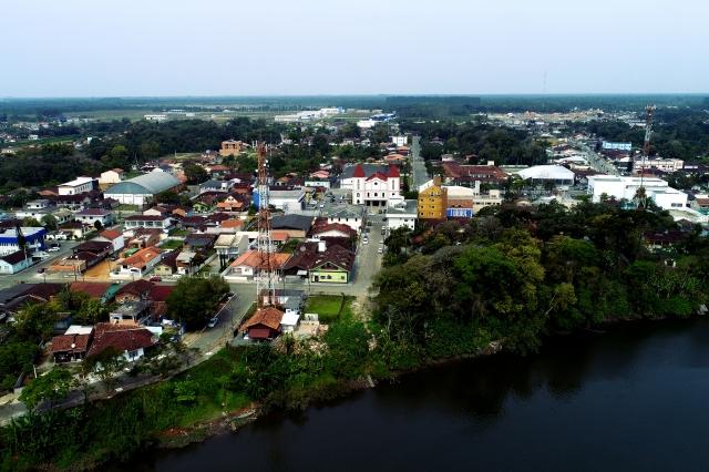 Imagem aérea de Araquari | Foto Divulgação