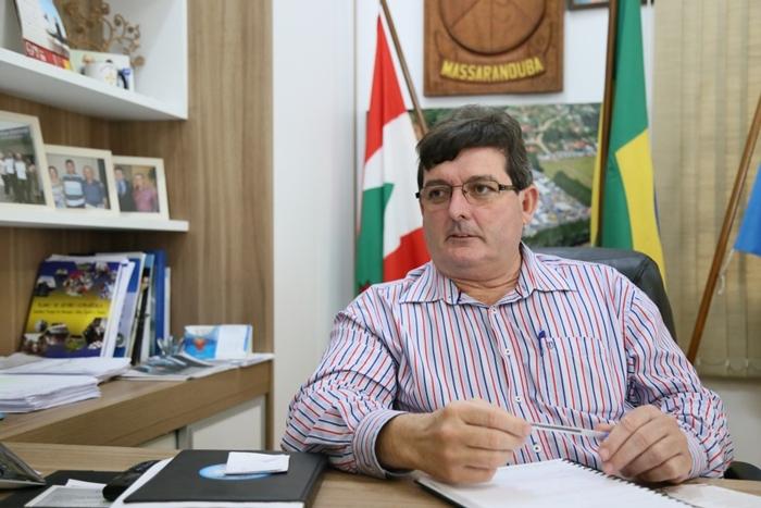 Prefeito de Massaranduba, Armindo Sesar Tassi (MDB), se envolveu em um acidente no último sábado (11) | Foto Eduardo Montecino/ArquivoOCP News