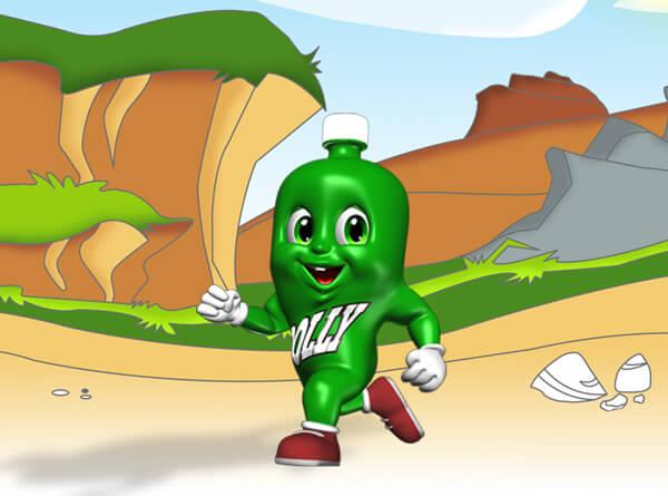 Dollynho, o mascote da marca de refrigerantes virou meme na internet   Foto: Divulgação