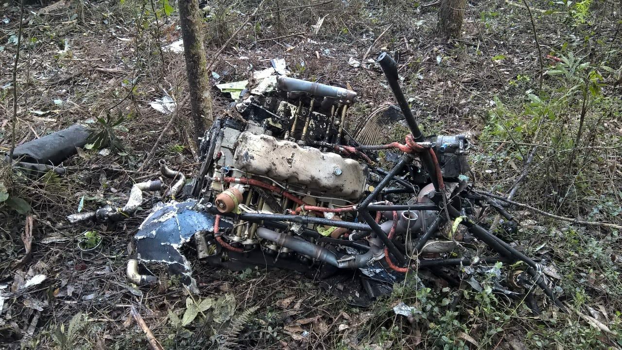 Acidente aeronáutico no Paraná | Foto Divulgação