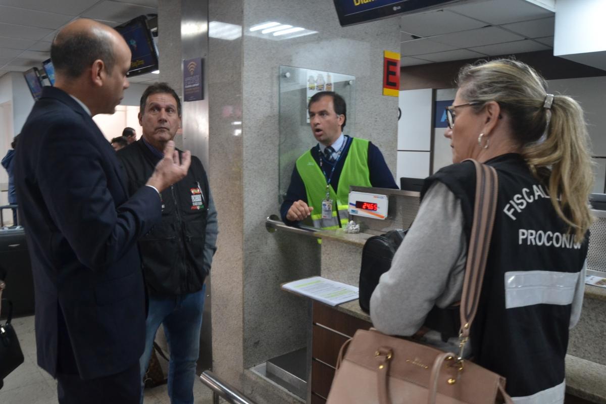 II Blitz Nacional foi realizada no Floripa International Airport   Foto Divulgação/OAB