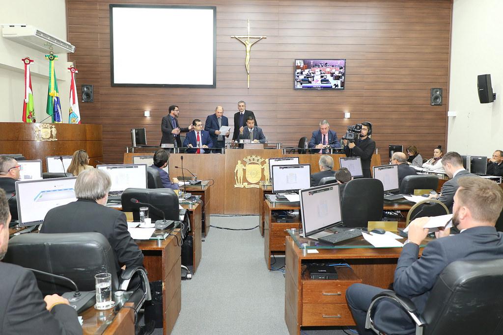 LDO foi aprovada na Câmara de Vereadores por 14 votos a 7 | Foto Édio Hélio Ramos | Divulgação | CMF