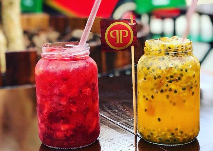 Bebida também pode ser pedida com saquê ou espumante | Foto Divulgação/Praça Rippa