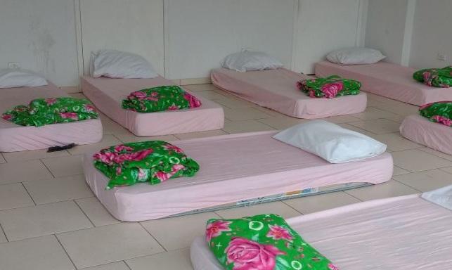 Abrigo na Passarela Nego Quirido   Foto: Secretaria Municipal de Assistência Social