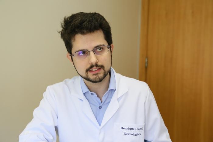 Neurologista HenriqueDiegoli aposta na prevenção para evitar casos de AVC | Foto Eduardo Montecino/OCP News
