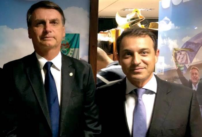 Comandante Moisés é do mesmo partido de Bolsonaro, o PSL | Foto Click Catarina