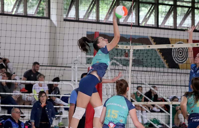Copa Santa Catarina Infanto de Vôlei é um dos eventos | Foto: Divulgação/Secel