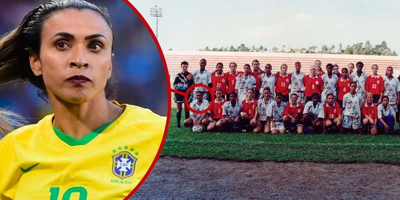 Marta foi o grande nome do Campeonato Brasileiro Sub-17 de 2001, que aconteceu no estádio João Marcatto | Fotos Divulgação/CBF