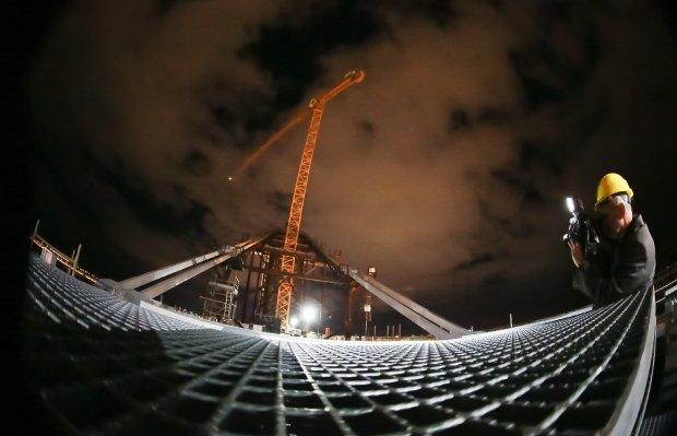 Nem vento sul e a garoa fina impediram o começo dos trabalhos | Foto Julio Cavalheiro/Secom