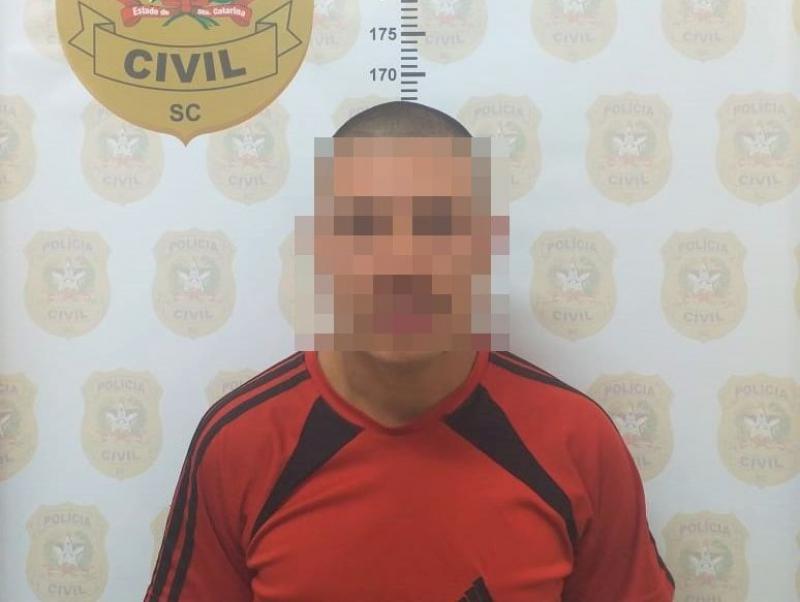Assaltante estava sendo investigado por violência doméstica   Foto: Polícia Civil/Divulgação