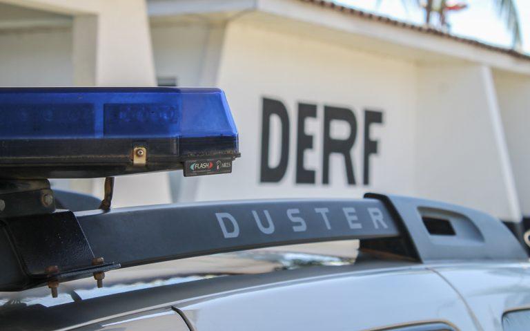 Polícia encontra carretas com placas de Joinville   Guilherme Araújo / Só Notícias