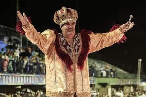 Hernani Hulk foi Rei Momo por 33 anos | Foto Divulgação