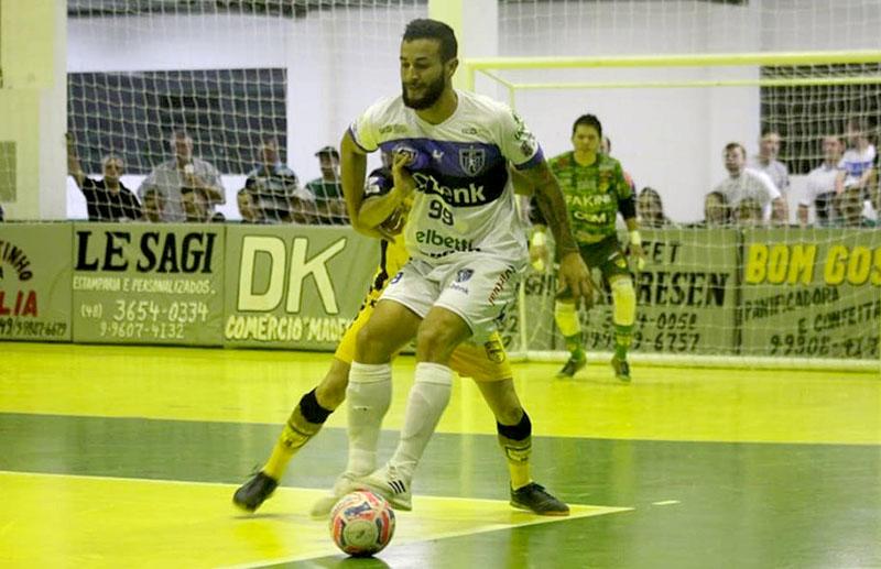 Foto Divulgação/Tubarão Futsal