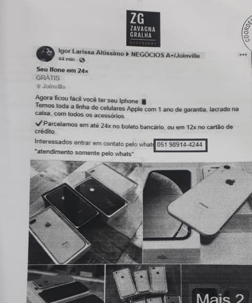 Procon de Criciúma notifica Facebook por falsos anúncios publicitários