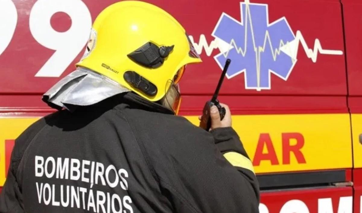 Foto Divulgação/Bombeiros Voluntários