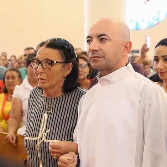 Nota de falecimento: Dona Luiza, mãe do padre Richardson