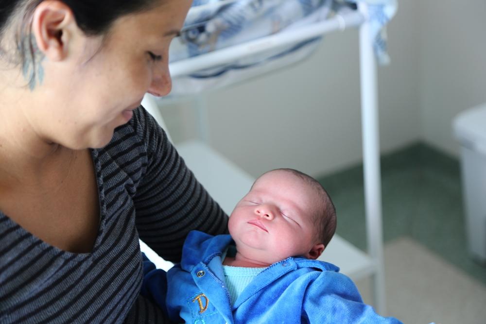 Sintia não esperava que Pyetro nascesse logo após o Ano-Novo | Foto Gustavo Luzzani/OCP News