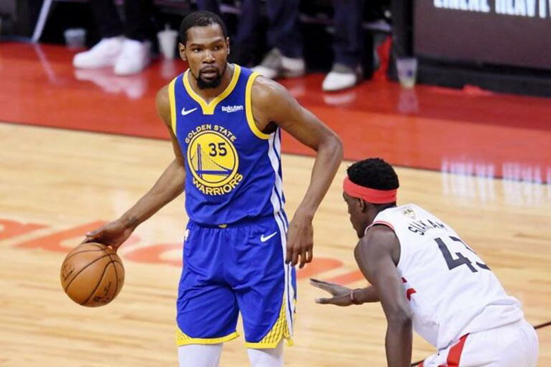 Astro da NBA, Kevin Durant é um dos atletas infectados | Foto Nick Turchiaro-USA TODAY Sports