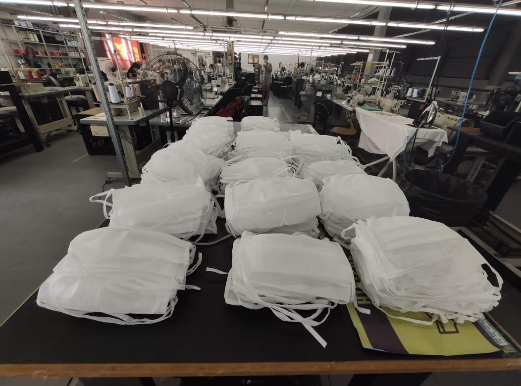 Labellamafia produziu 100 mil máscaras | Foto Divulgação