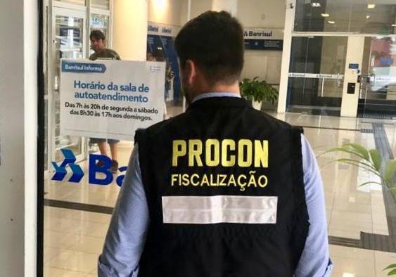 Bancos têm que deixar horários de atendimentos expostos   Foto PMF/Divulgação