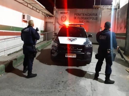 Homem foi reencaminhado ao sistema prisional | Foto GMF/Divulgação