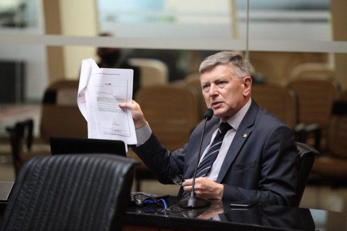 Deputado estadual Milton Hobus (PSD) | Foto Agência AL