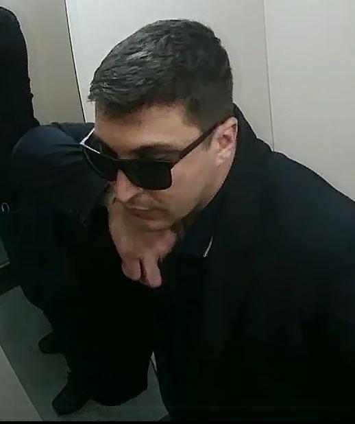 Vídeo: PC de Criciúma pede ajuda para localizar assaltante que buscava roubar R$ 1 milhão
