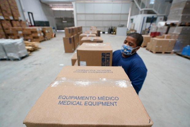 Os respiradores foram adquiridos pelo Governo do Estado junto à empresa WEG | Foto  Ricardo Wolffenbüttel / Arquivo / Secom