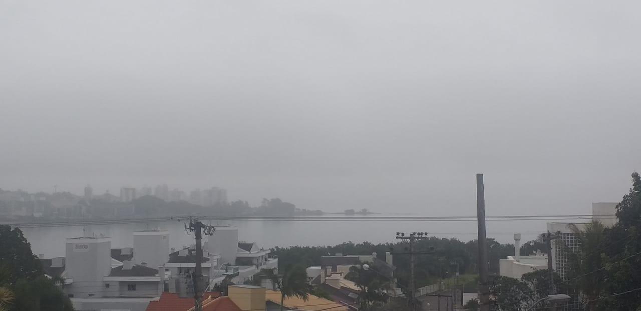 Tempo muda Florianópolis   Foto Ewaldo Willerding/OCPNews