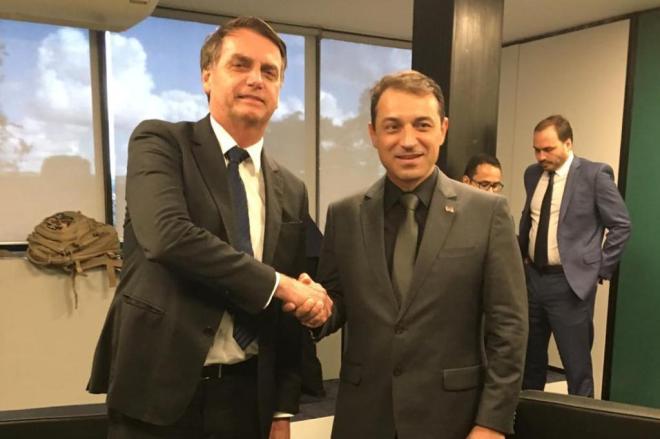 Moisés deixou claro a intenção de se reaproximar do presidente Bolsonaro | Foto Divulgação
