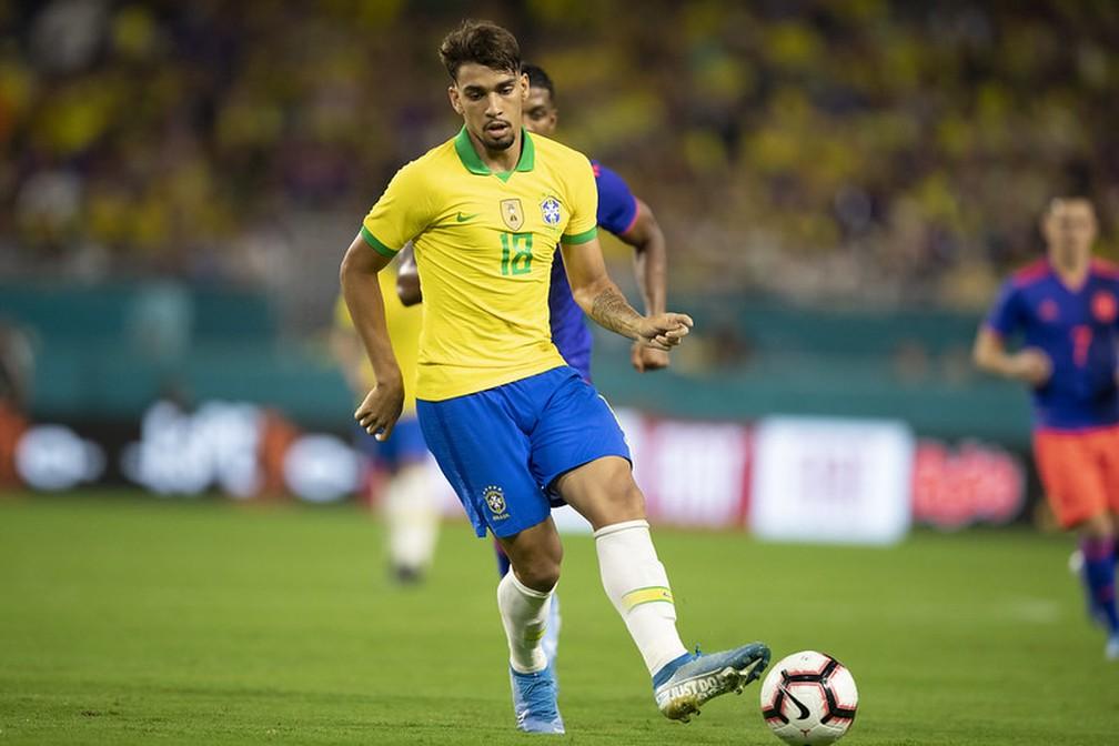 Lucas Paquetá já disputou 11 partidas com a amarelinha, tendo feito dois gols | Foto: Lucas Figueiredo/CBF