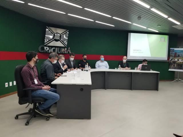 Criciúma: Governo Municipal se reúne hoje com setores para discutir medidas de enfrentamento à Covid-19