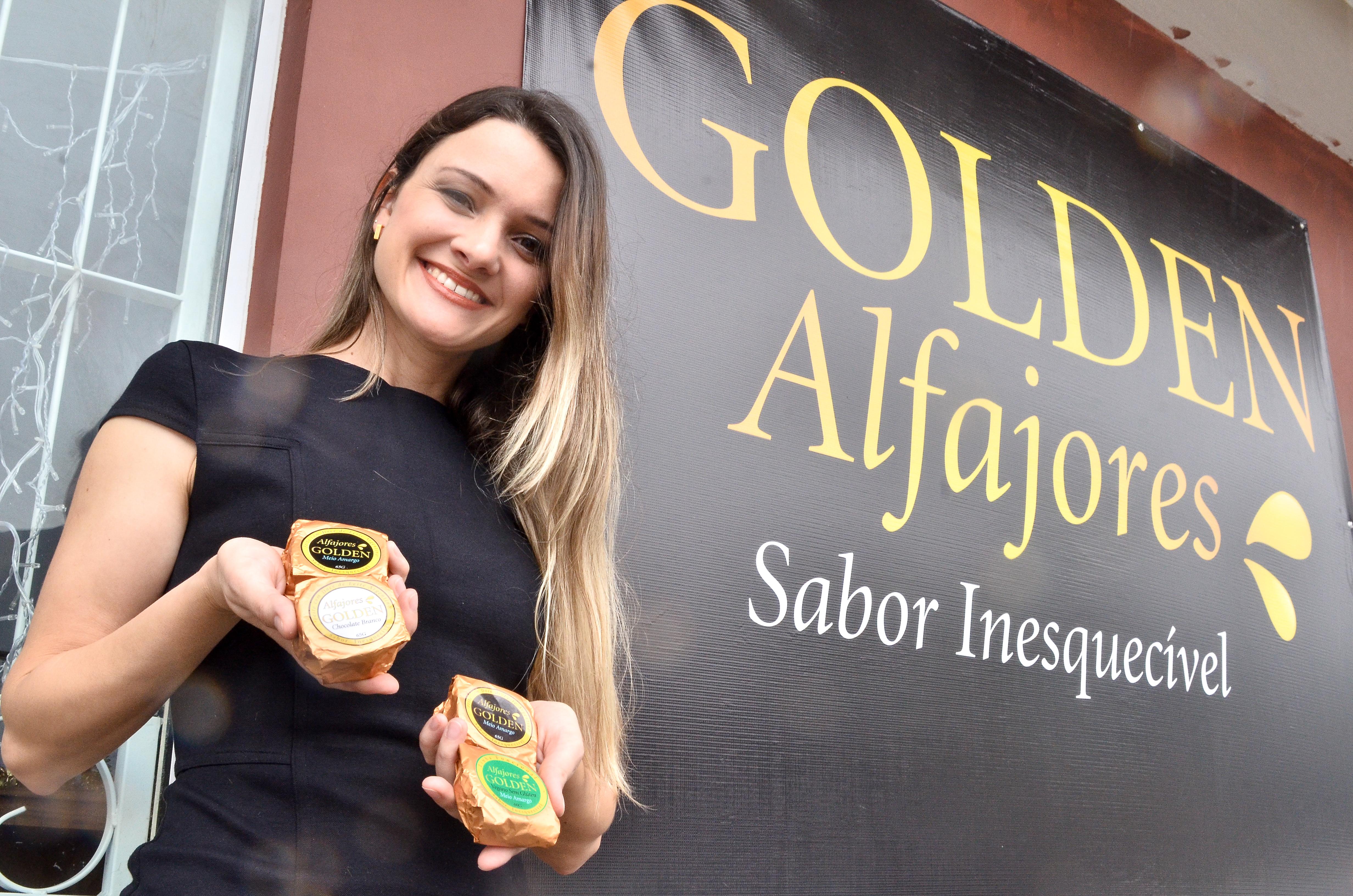 Camila Consul fundadora da Alfajores Golden l Foto: Piero Ragazzi