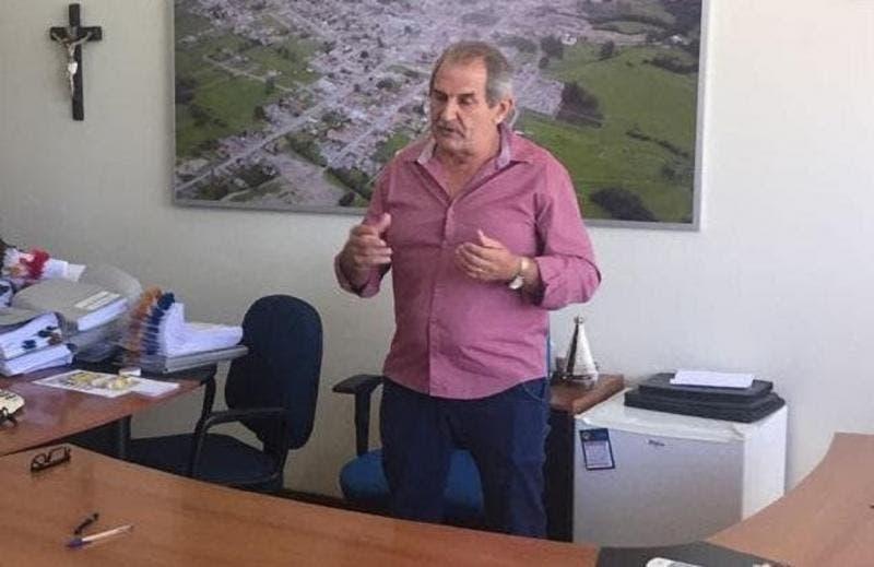 Prefeito de Bom Retiro, Vilmar José Neckel foi condenado em primeira instância | Foto: Divulgação/Prefeitura de Bom Retiro