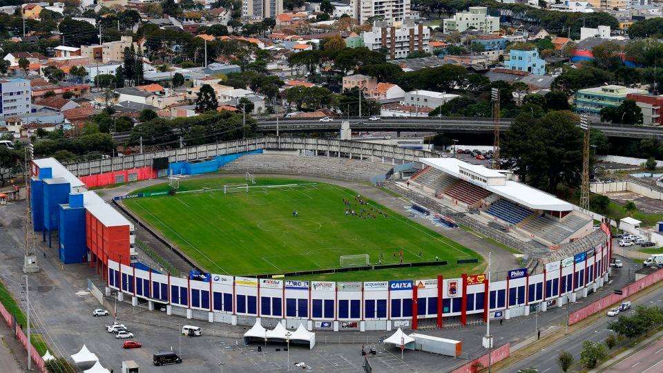 Jogo será às 16h no estádio Durival de Brito | Foto Divulgação/Paraná Clube