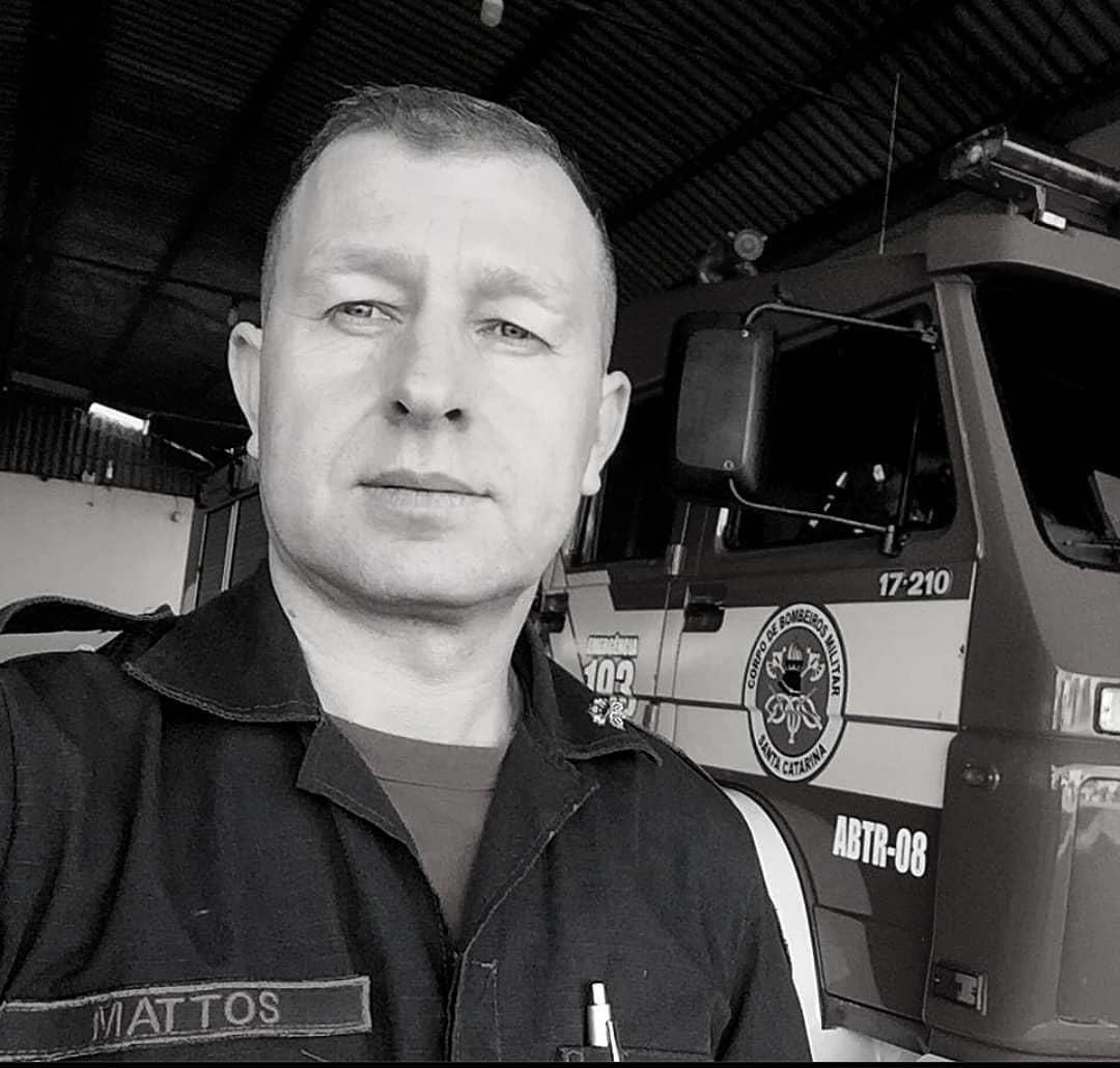 Nota de falecimento: Sargento Anderson Mattos Costa, aos 44 anos, do Corpo de Bombeiros