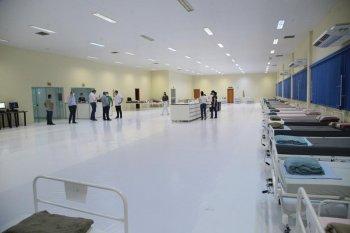 Centro Avançado de Atendimento Covid foi desativado em Chapecó | Foto Divulgação/PMC