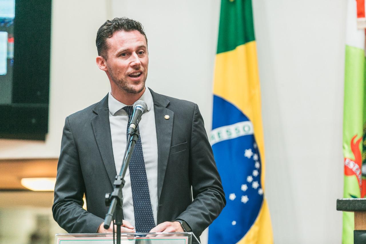 Deputado Estadual, Fernando Krelling (MDB)   Foto Agência AL