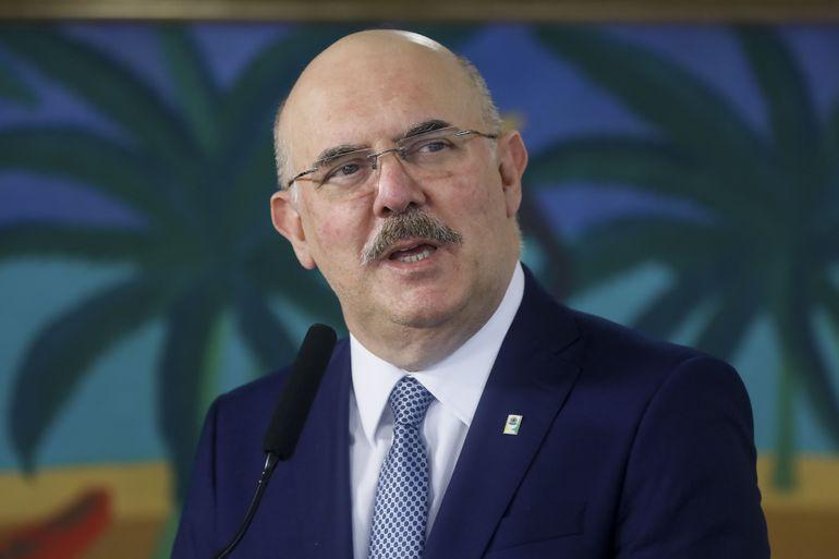 Ministro da Educação, Milton Ribeiro. Foto:  Foto: Isac Nóbrega/PR