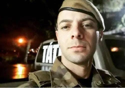 Soldado baleado em confronto com assaltantes em Criciúma precisa de produtos de higiene