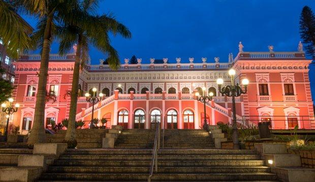 Palácio Cruz e Sousa é a sede do Museu Histórico de Santa Catarina | Foto  Márcio Henrique Martins / Arquivo / FCC