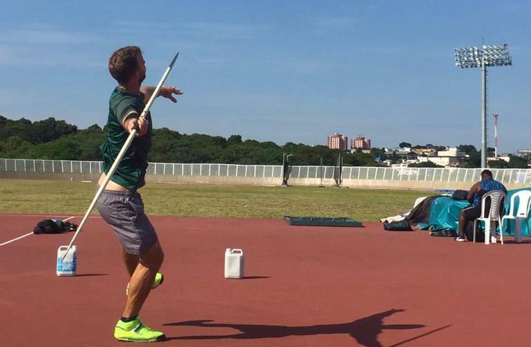 Edenilson Roberto Floriani representará o Brasil no atletismo | Foto: Divulgação
