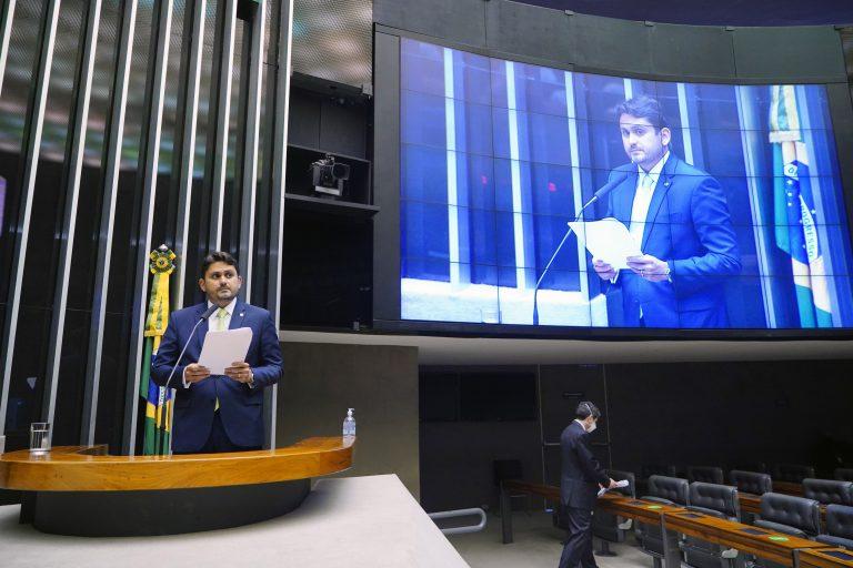 Deputado Juscelino Filho, relator da LDO | Foto: Pablo Valadares/Câmara dos Deputados