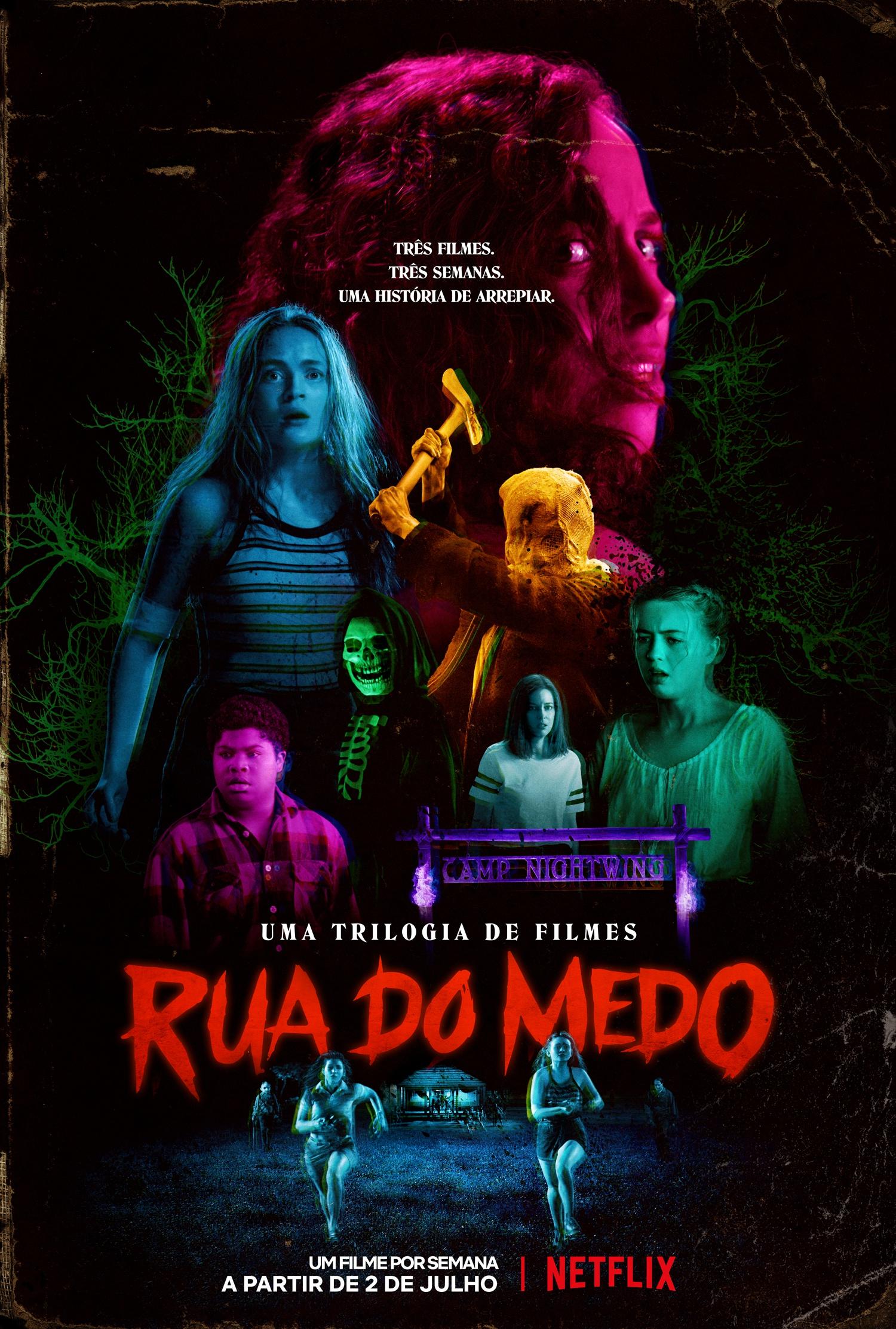 Conheça a trilogia Rua do Medo da Netflix, inspirada nos livros de RL Stine